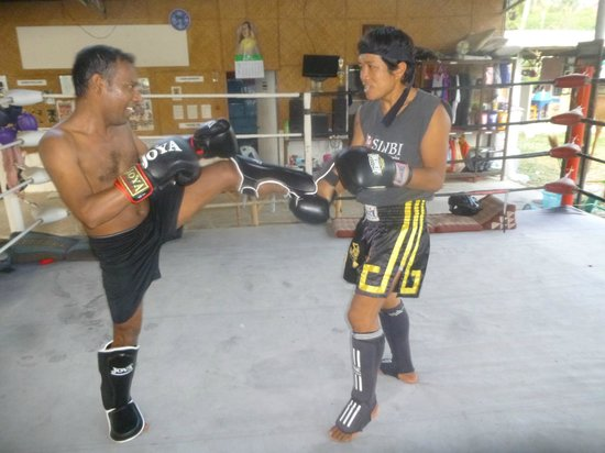 Diamond Muay Thai: Training with most cool guy, Phoo (Suwan chansri)