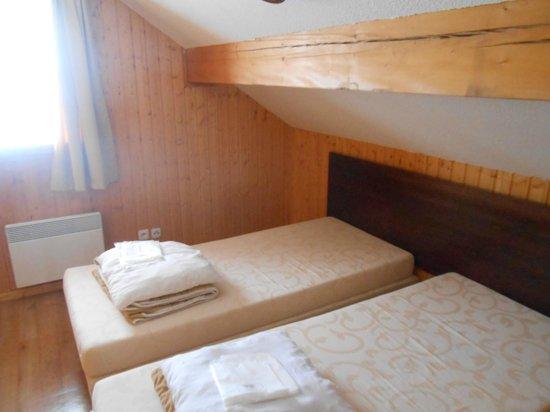 Goelia Les Chalets des Ecourts: chambre 2 lits simples