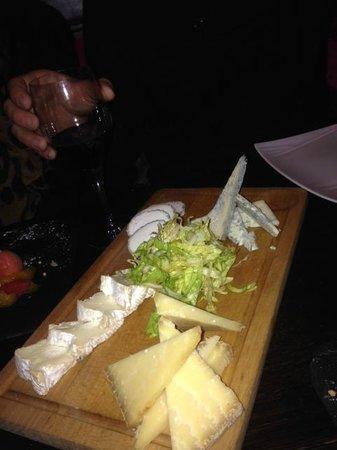 Pouic-Pouic : Plateau de fromages