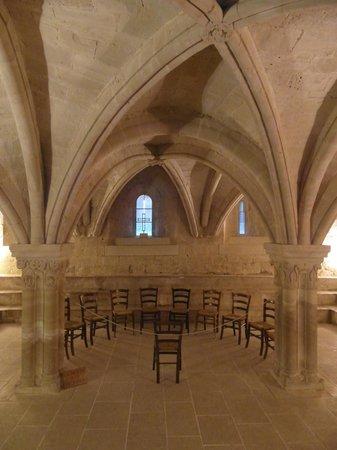 Abbaye Notre-Dame de Sénanque : Il capitolo