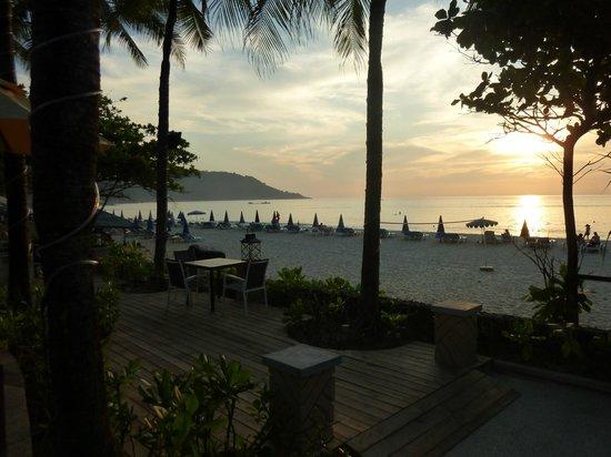 Kata Noi Beach from hotel