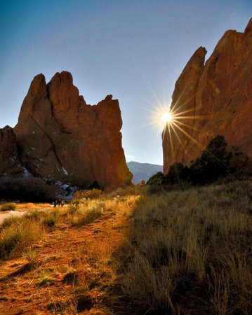 Jardín de los dioses (Garden of the Gods): On the main paved path