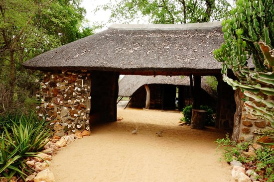 Motswari Private Game Reserve: Entrance