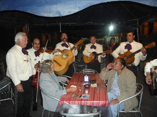 Plaza de los Mariachis: los mariachis