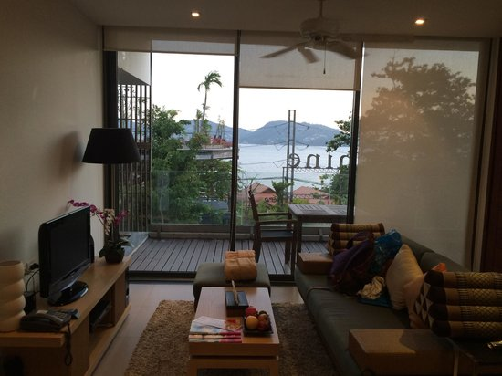 IndoChine Resort & Villas: Suite - View and living room