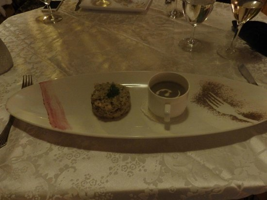 A Reverie : Mushroom (2 ways) starter, Risotto & Soup.