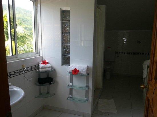 Bay View Villa: ванная - очень чисто и мило