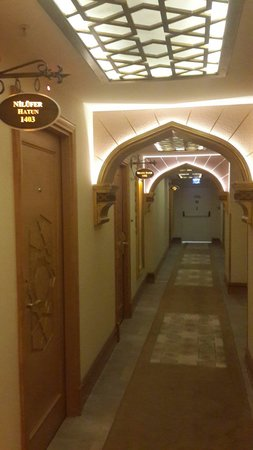 Hotel Sultania : Room corridor