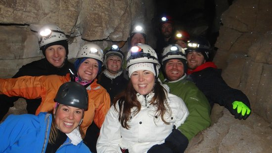 At Last Adventures: Underground, in one of the caves