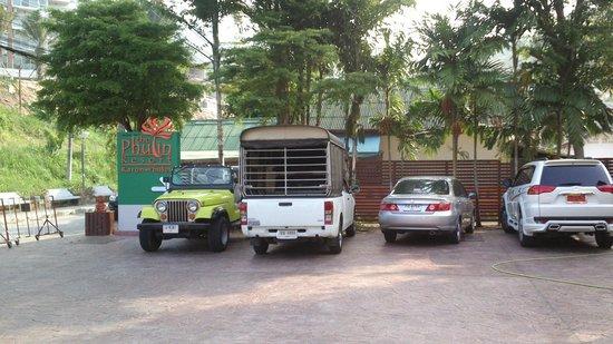 Phulin Resort: Парковка