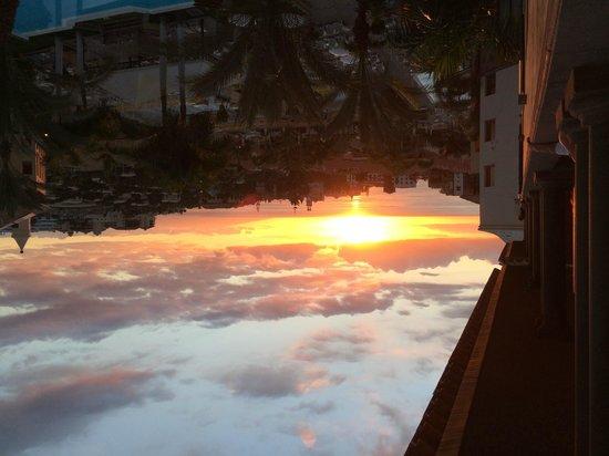 GF Gran Costa Adeje: Coucher de soleil