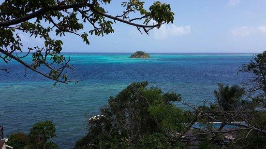 Deep Blue: La vista desde el hotel es increible!