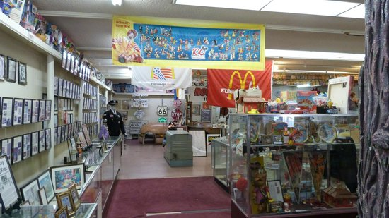 Original McDonald's Site and Museum: Inside the museum.