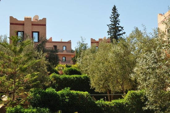 Le Beau Site Ourika : Vue d'ensemble, jardins
