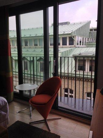 Avalon Hotel: Ausblick vom Zimmer