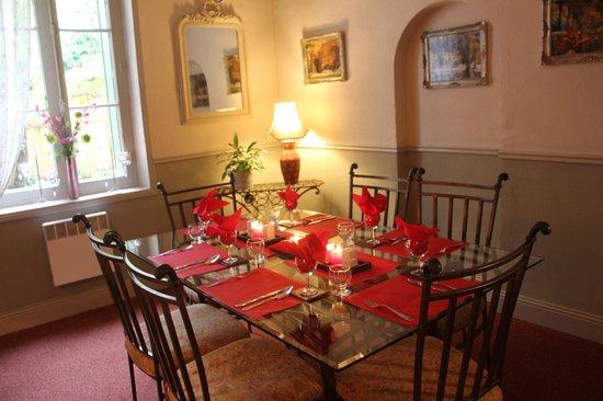 Le Jardin Sarlat: Dining Room