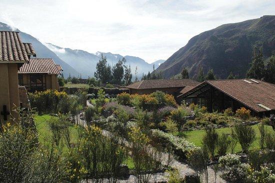 Inkallpa Valle Sagrado: Vista desde la habitación