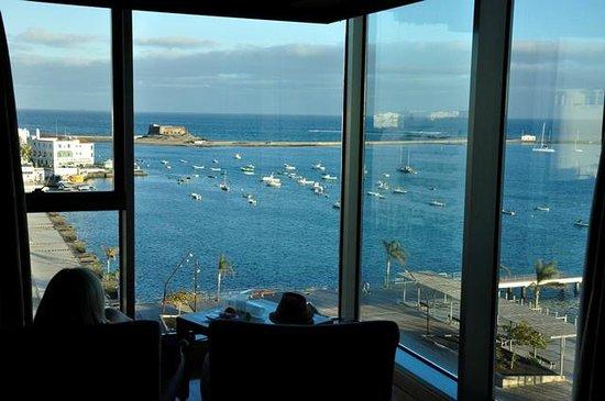 Arrecife Gran Hotel: Widok z pokoju