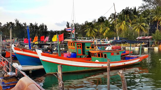 Narathiwat, Thaïlande : Kalatapae village