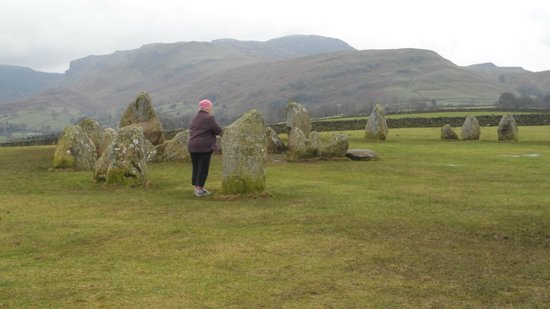 Castlerigg Stone Circle: size comparison