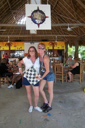 The Amazing Cozumel Race: We won 1st Place!!