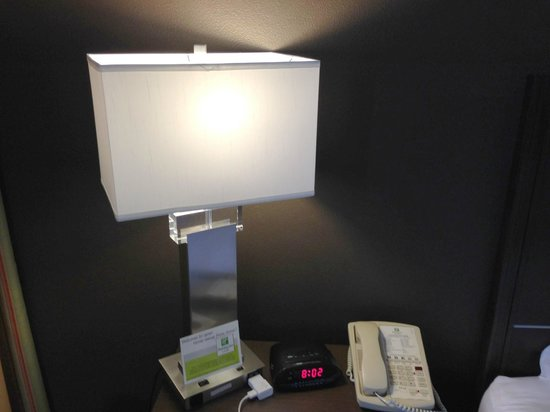 Holiday Inn Hotel & Suites Anaheim (1 BLK/Disneyland): Lamp in room.