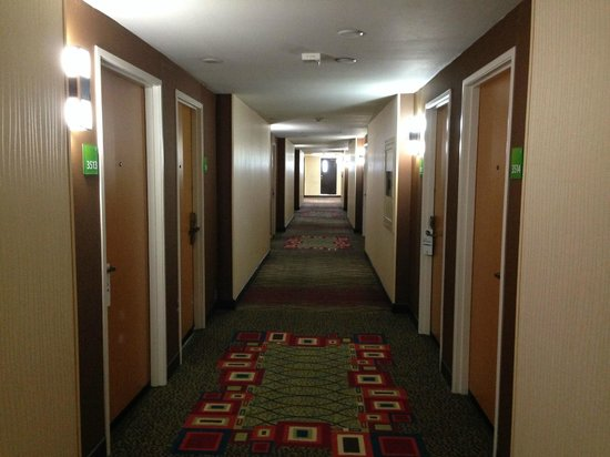 Holiday Inn Hotel & Suites Anaheim (1 BLK/Disneyland): Hallways