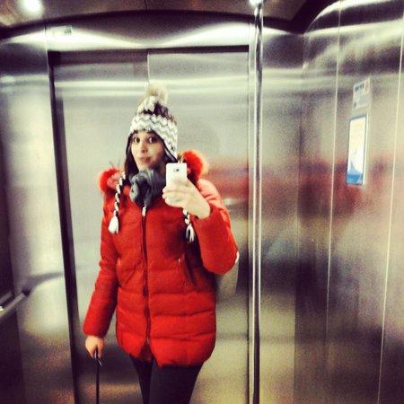 Hotel Berna: ascensore berna hotel