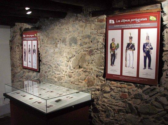 Museo Portugués de Colonia del Sacramento: Vista general de la Sala Cisplatina
