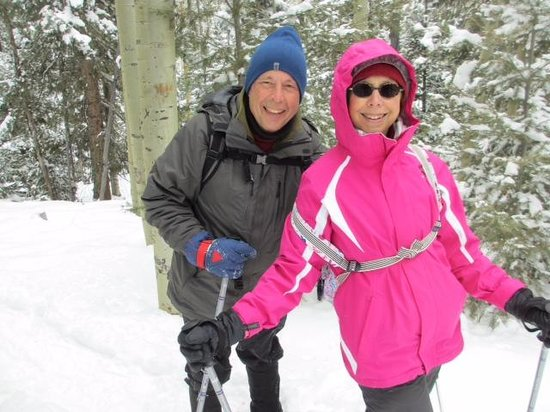 Outspire Hiking and Snowshoeing : Snowshoeing with Outspire in Santa Fe