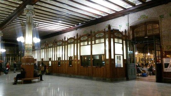 North Station : Las taquillas