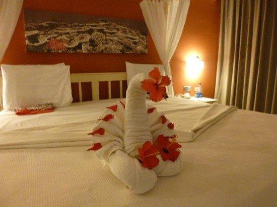 Grand Palladium Bavaro Suites Resort & Spa: Detalle de amor de la Sra Paulina Guerrero