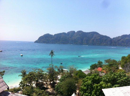 Phi Phi The Beach Resort: Vue de la chambre de jour