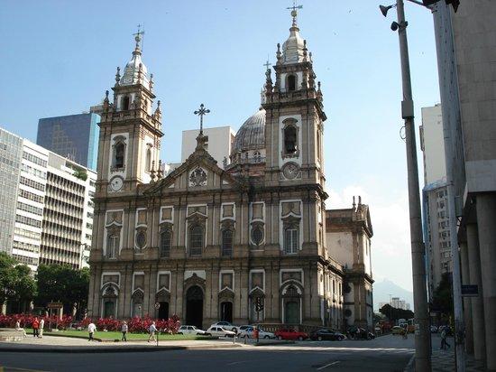 Church of Our Lady of the Candelária: Frente da Igreja