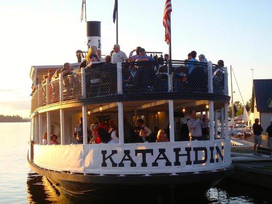 Katahdin Cruises and Moosehead Marine Museum: Katahdin Boat Cruise of Moosehead Lake