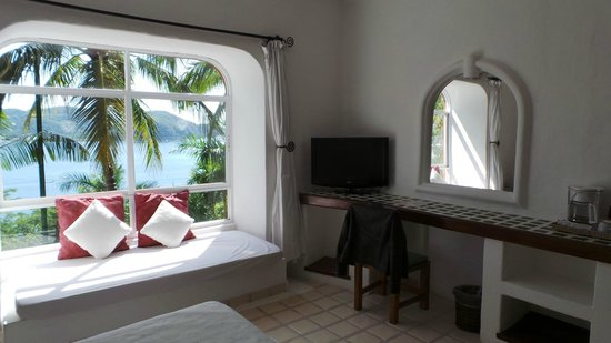 WorldMark Zihuatanejo: Chambre avec vue sur la baie