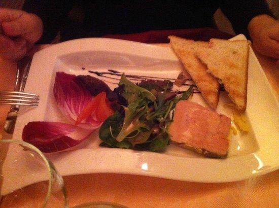 Restaurant la Clef des Champs : fois gras maison