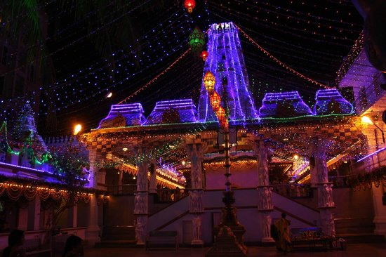 Surayanarayana Temple: Suryanarayan Temple lit up in the evening