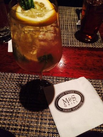M&S Grill: the Sangria was good