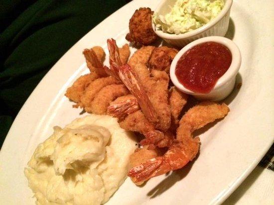 M&S Grill: Fried shrimp were terrific