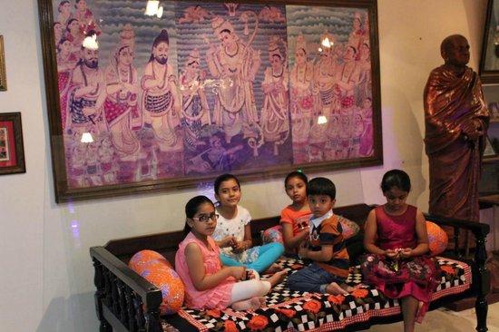 Surayanarayana Temple : the fourth generation of the temple's builder, Patel .D R Krishna Reddy