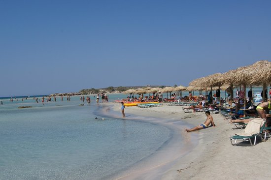 Strand von Elafonissi: Elafonissi Beach