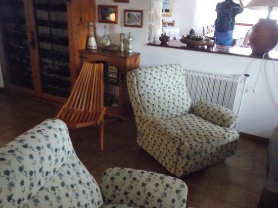 Hosteria La Domanda: Interior de la casa de té