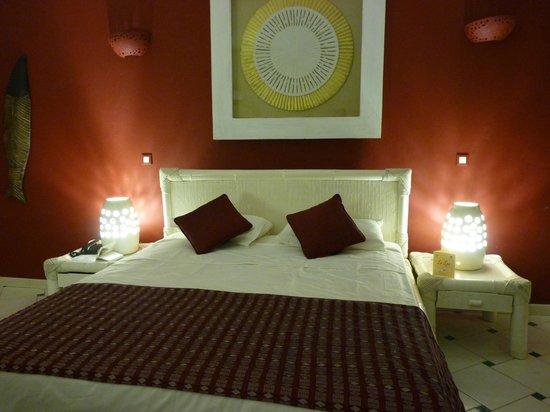 Lamantin Beach Resort & Spa : Chambre