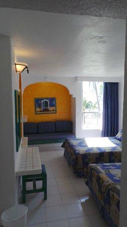 Posada Real Ixtapa: La chambre côté mer au 3e étage