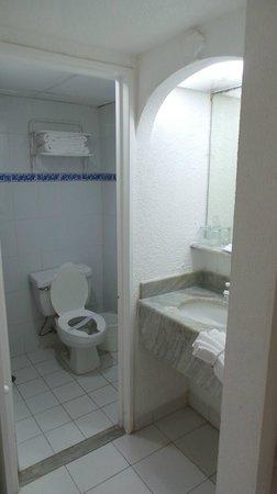 Posada Real Ixtapa: Salle de bain