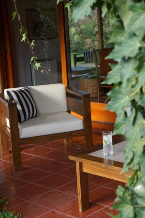 Casa Palmero Wine House: Veranda