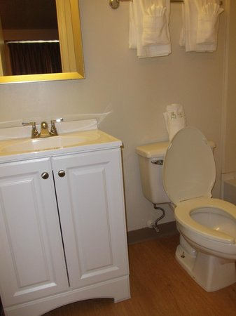 Home Towne Studios - Louisville: Bathroom