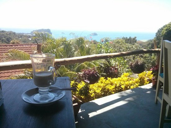 Emilio's Cafe: Coffee with a view