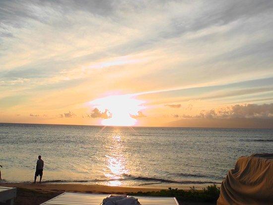 Ka'anapali Beach Club: atardecer en kaanapali beachclub